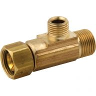 Compression fitting - Female tee adapter